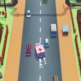 Скриншот игры Скорая помощь - экстремальный дрифт
