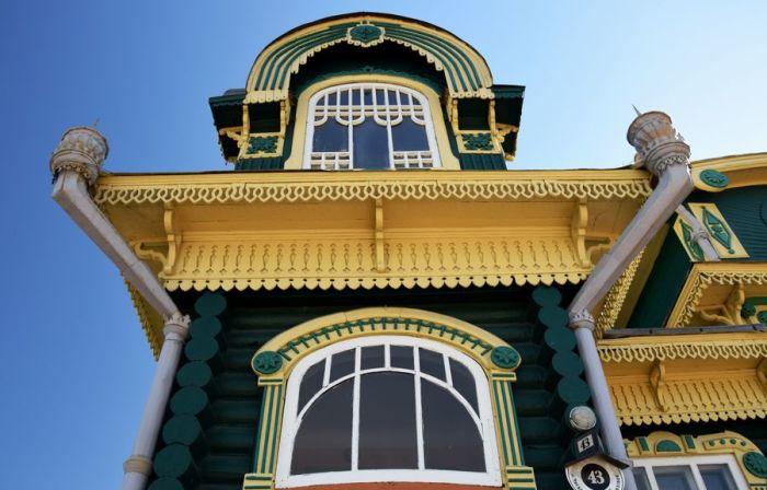Дом после покраски. /Фото:holiday-trips.ru